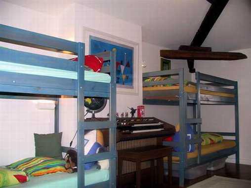 Chambre d'hote Rhône - Suite familiale la chambre des enfants