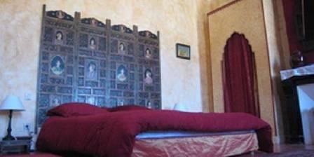 Château du Comte La chambre Indienne