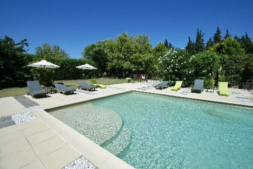 bed & breakfast Vaucluse - The swimming pool