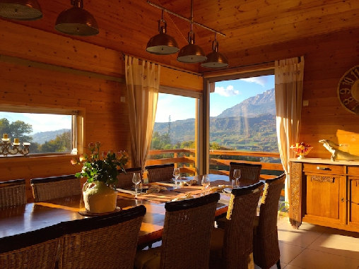 bed & breakfast Hautes Alpes - Dining Room
