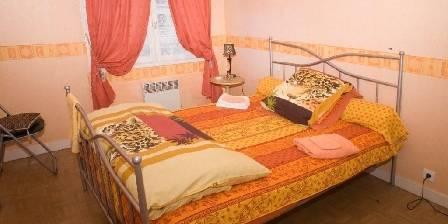 Maison et table d'hôtes Joliot Curie La chambre Safari
