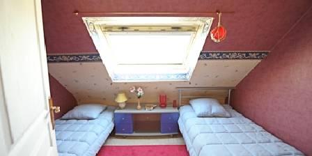 Maison et table d'hôtes Joliot Curie La  chambre  rouge