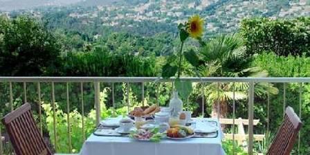 Les Cypres de Vence Le petit déjeuner