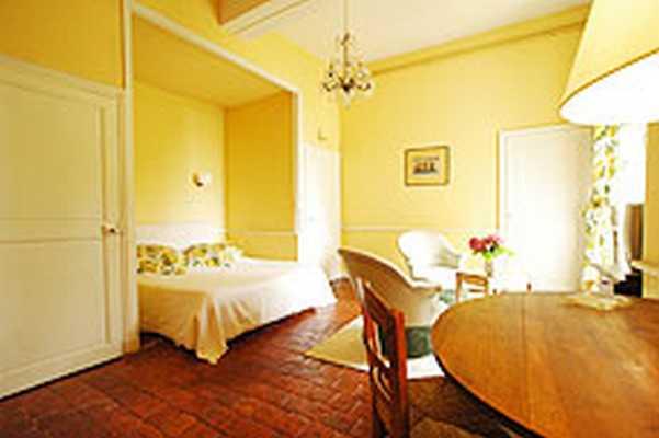 Chambre d'hote Nièvre - La chambre Jaune