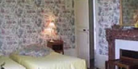 Château de Sury La chambre à Fleurs