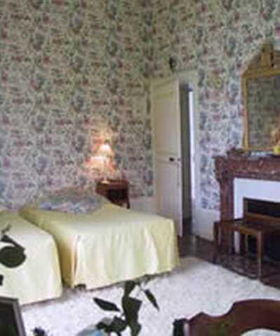 Chambre d'hote Nièvre - La chambre à Fleurs