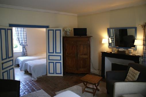 Chambre d'hote Loir-et-Cher - La chambre Bleue