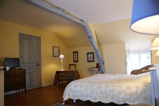 Chambre d'hote Loir-et-Cher - La chambre Lavande