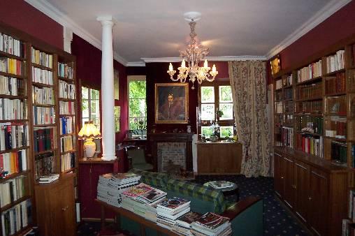 Salon Bibliothèque
