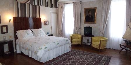 La Gentilhommière de Latillé Art Déco bed room