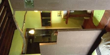 La Demeure La mezzanine de la chambre le Petit Pénéquet