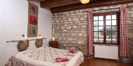 Mas Derrière Château Chambre rouge