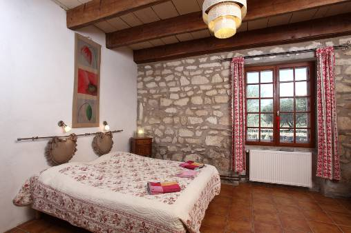 Chambre d'hote Bouches du Rhône - Chambre rouge