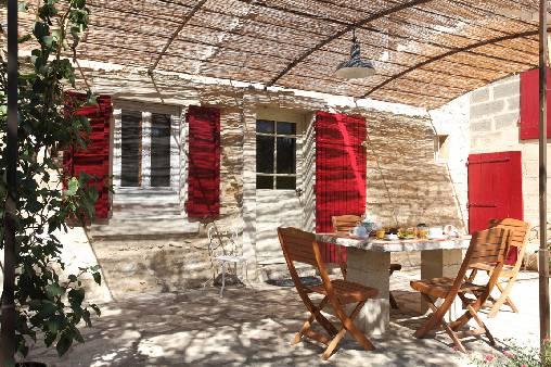 Chambre d'hote Bouches du Rhône - Terrasse