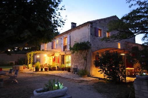 Chambre d'hote Bouches du Rhône - Le mas de nuit