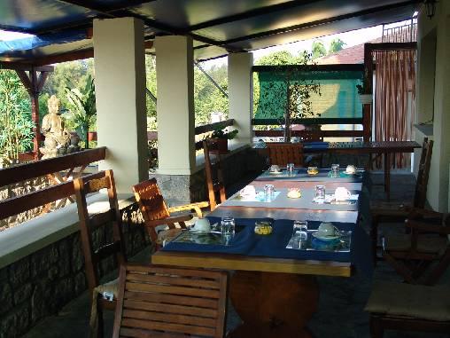 Chambre d'hote Corse 2A-2B - terrasse