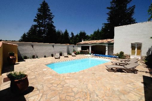 Chambre d'hote Aude - La piscine