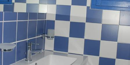Domaine de l'Illet La salle de bain