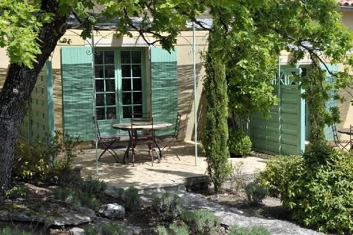 Chambre d'hote Vaucluse - La terrasse individuelle