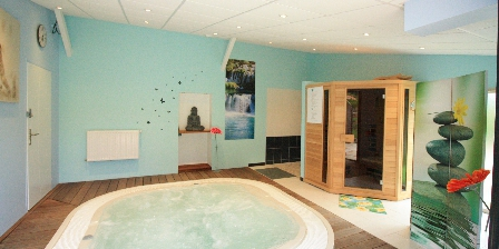 Domaine de La Rebière Spa sauna à disposition