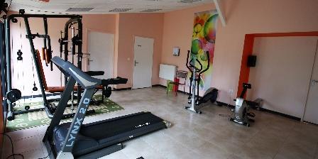 Domaine de La Rebière Salle de fitness