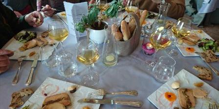 Gite Domaine de La Rebière > repas traiteur