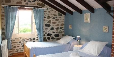 Gite Domaine de La Rebière > le gîte la Glycine une 2ème chambre