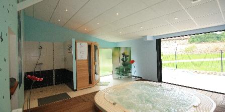 Gite Domaine de La Rebière > spa et sauna