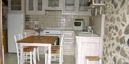 Gite Domaine de La Rebière > la cuisine du gîte Lavande