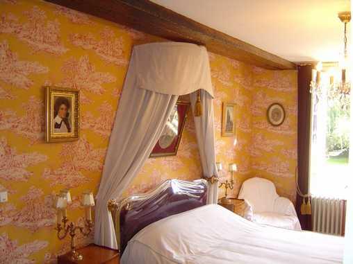 Chambre d'hote Aisne - Chambre Comtesse du Barry