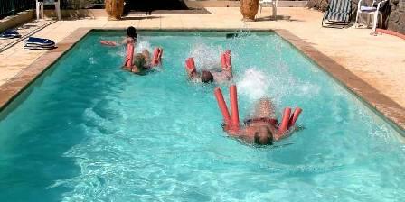 Domaine de Pouzadouire La piscine