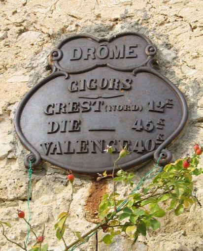 Chambre d'hote Drôme - Gigors et sa situation