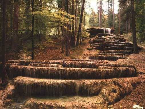 Chambre d'hote Haute-Marne - La cascade petrifiée