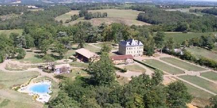 Chateau d'Izaute Vue d'ensemble