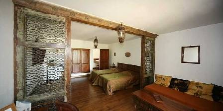 Chateau d'Izaute Suite Inde 2 lits