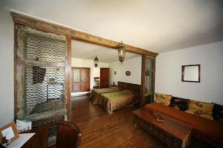 Chambre d'hote Gers - suite Inde 2 lits