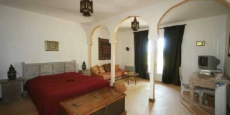 Chateau d'Izaute Suite maroc grand lit
