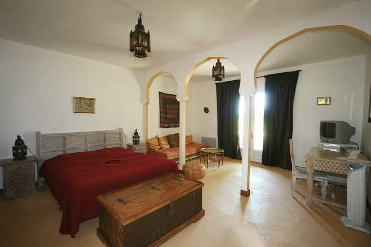 suite maroc grand lit