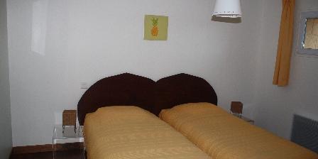 Chateau d'Izaute Chambre  2 lits appartement
