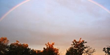 Chateau d'Izaute Arc en ciel parc