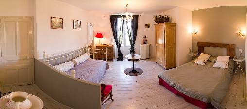 Chambre d'hote Var - Chambre rouge