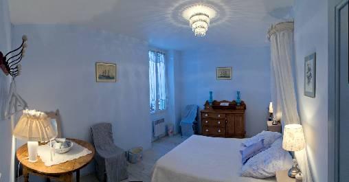 Chambre bleue onde