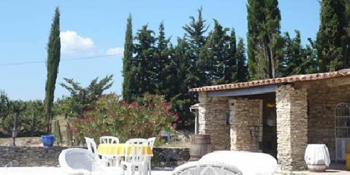Chambre d'hote Vaucluse - auvent