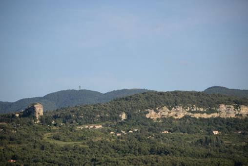 Chambre d'hote Vaucluse - vue sur le Luberon