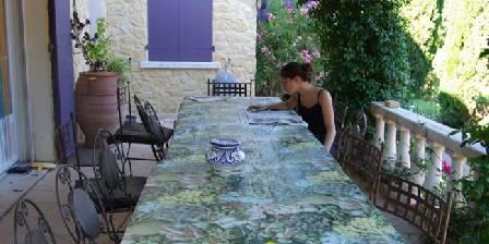 Chambre d'hotes Eden House > La terrasse