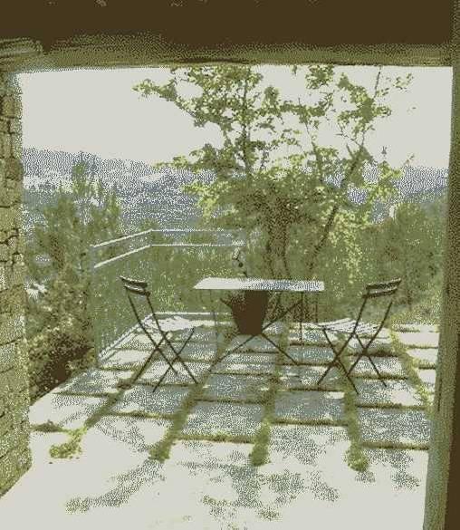 La terrasse du studio