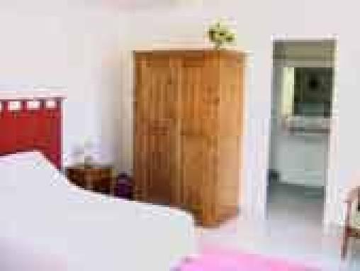 la chambre et sa terrasse