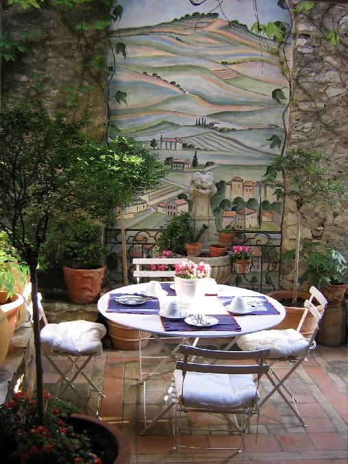 bed & breakfast Vaucluse - the little terrace