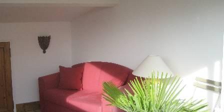 L'Evéché One sitting room of the solanum suite