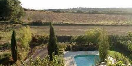 Domaine Saint Paul de Fannelaure La vue de la terrasse de la suite Genets